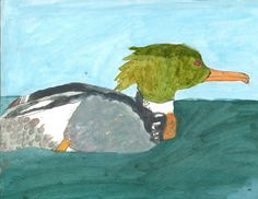 The 2013 Florida Junior Duck Stamp of Sierra Hamilton, 8, honorable mention in Group 1, grades K-3. DDWS photo