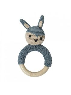 Sebra Rammelaar houten ring konijn