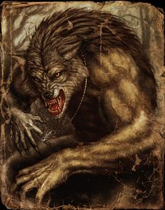 Werewolf art. Not quite the beast, but has *some* similarities.
