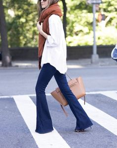 What to do when your skinnies need a break: how to wear your flares