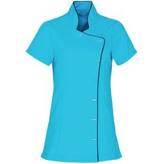 Lily Beauty and Spa Tunic Including VAT at Beauty Tunics, Beauty Uniforms, Short Sleeve Dresses, Dresses With Sleeves, Work Wear, Chef Jackets, Polo Shirt, Spa, Lily