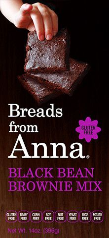 Breads from Anna - Black Bean Brownie Mix