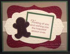 Gingerbread man from Scentsational Season
