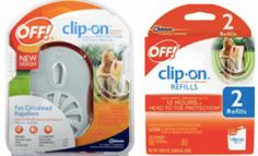 Buy Off! clip-on repellent, get the refill free
