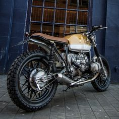 BMW R80 Scrambler by Down & Out Cafe Racers
