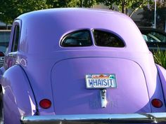 purple car by S.C. Asher, via Flickr