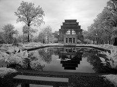 The Jewel Box--a glass greenhouse in Forest Park built for the 1904 World's Fair