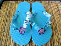 Decorate Flip Flop Craft Ideas | ... decorate their own flip flops, here are the instructions: Flip Flop