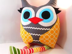 Owl pillow owl plush - golden circle owl pillow by bellamina. Pinned for BabyBump, the #1 mobile pregnancy tracker with the built-in community for support and sharing.