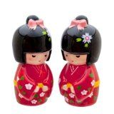 Adorable Geisha Girls Salt & Pepper Shakers