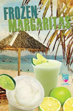 Island Oasis uses premium ingredients to make the delicious frozen beverages to cool you down and deliver that fresh frozen taste you love.  Stop by and enjoy your favorite frozen margaritas in a variety of flavors.