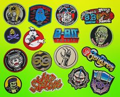 PATCHES! I got'em you need'em! It's kind of ridiculous how many rad patches I have in stock right now. So much 80's goodness. Get'em while they last:  WWW.8BITZOMBIE.COM by 8bz