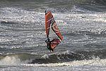 surfen op de noordzee