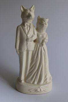 Etsy Handmade Ceramic Cake Topper Melabowed Fox
