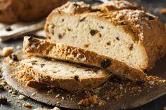 Irish Soda Bread - Makes 20 Servings Ingredients 3 cups all-purpose flour 1 teaspoon baking soda 2 teaspoons baking powder 1 teaspoon grated nutmeg 1 teaspoon caraway seeds 1/3 cup Splenda® baking blend 2 tablespoons canola oil