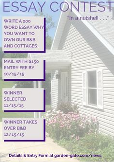 essay contest to win home