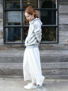 haruさんのコーディネート Mori Fashion, Skirt Fashion, Fashion Looks, Womens Fashion, Japan Fashion, Daily Fashion, Everyday Fashion, Spring Summer Fashion, Autumn Fashion