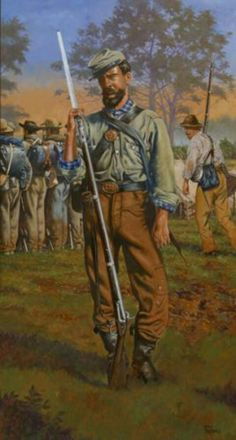 """On to Shiloh"", by Rick Reeves. Confederate States Of America, America Civil War, American War, American History, Military Art, Military Uniforms, Military History, Battle Of Shiloh, Civil War Art"
