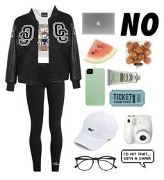 """""""Crenshaw Warriors"""" by iamcece854 ❤ liked on Polyvore featuring Untitled & Co, adidas, Opening Ceremony, Fujifilm and Illesteva"""