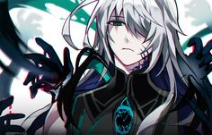Elsword AIN Apostasia Riz of the dead. Sci Fi Anime, Evil Anime, Anime Demon, Ain Elsword, Elsword Game, Cute Anime Boy, Anime Guys, Game Character, Character Design