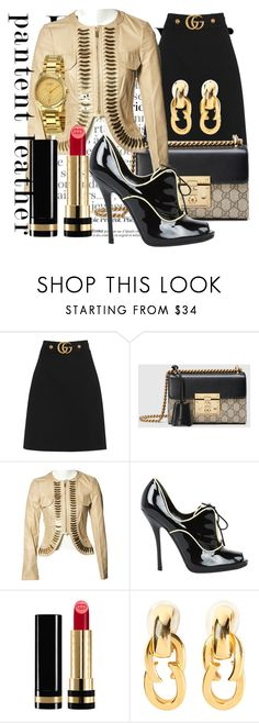 """""""A Saint is a Sinner Too"""" by lullulu ❤ liked on Polyvore featuring Gucci"""