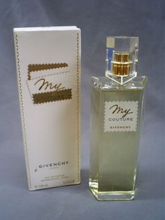 100 ml BOTTLE GIVENCHY MY COUTURE EAU DE PARFUM PERFUME SPRAY/ BOX