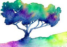 watercolor colorful rainbows - Buscar con Google
