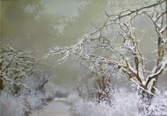 Fresh Coldness by Anara Abzhanova, Acrylic