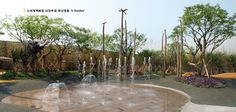 the Rooftop Garden at Shinsegae Department Store, 2012 / Beoh Enc. Landscape Architecture