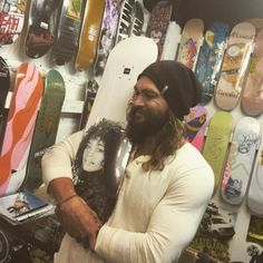 Jason Momoa Lisa Bonet Skateboard Instagram