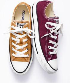 Cute fall colored converse