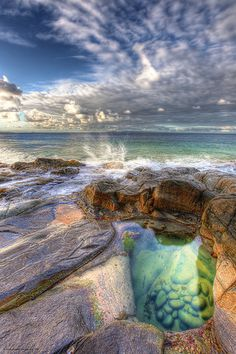 Emerald Pools, Noosa National Park - Queensland, Australia