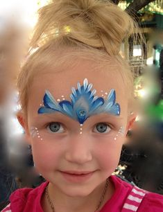 Face Painting Designs, Body Painting, Frozen Face Paint, Princess Face Painting, Frozen Theme, Child Face, Fantasy Makeup, Toddler Crafts, Face Art