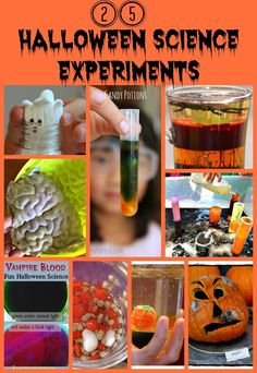Spooky and Fun Halloween Science Experiments for Kids.