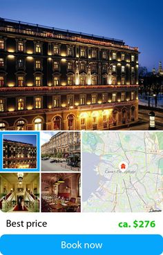 Belmond Grand Hotel Europe (Saint Petersburg, Russian Federation) – Book this hotel at the cheapest price on sefibo.