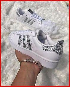 Trainers Superstar link om Adidas Alle voor Metallic Silver dames lezen Klik de maten White bovenstaande op Glitter te BdqdX