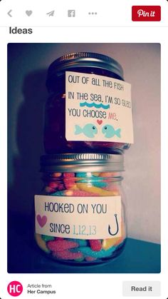 Cute ideas for a gift for your boyfriend/girlfriend