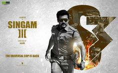 Presenting You the Official Motion Poster of Singam 3. S3 is an upcoming action film Written & Directed by Hari starring Surya, Anushka and Shruti Haasan