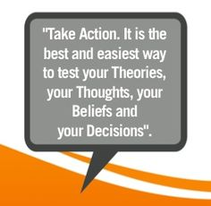 Thinking about something? Test it out! A snippet from our Leadership Development Course