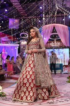Latest Bridal Lehenga, Pakistani Bridal Dresses, Bridal Gowns, Pakistani Couture, Desi Bride, Desi Wedding, Wedding Wear, Indian Wedding Outfits, Indian Outfits