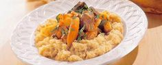 Slowcooked beef with couscous