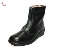 Ganter 79 810 01–bottines d'hiver pour femme - Noir - Noir, 4 (36.5) - Chaussures ganter (*Partner-Link)