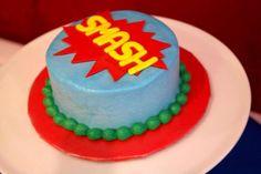 Vintage Super Hero First Birthday Birthday Party Ideas