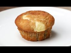 Get Your Baking Hat On And Make These Cream Cheese–FIlled Banana Bread Muffins