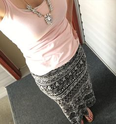 Comfy maxi and an @oldnavy tank because it is hot  today! We went and sold some of the baby clothes (that I could part with) that didn't get fit and got some new stuff for my little one. She even scored a Janie and Jack top for 5 bucks!!  #ootd #outfitoftheday #maxiskirt #momlife #mommyblogger #spring #momstyle #momfashion #sahm #lifestyleblogger #mom #instastyle #instafashion #stylishmom #wiw #springstyle
