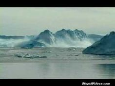 Amazing video of iceberg flipping over in front of cruise ship in Antarica.
