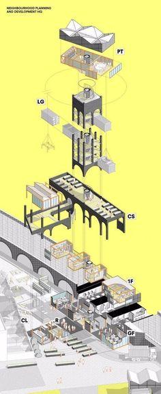 Wazzadu : แชร์เก็บไว้ดู!!! รวม 20 ไอเดีย เทคนิคการทำ Graphic Presentation สถาปัตย์ฯแบบเท่ๆ