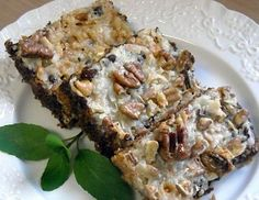 "Mommy's Kitchen: ""Old Fashioned Favorite"" Paula's 5 Layer Bars + July's Dinner Menu"