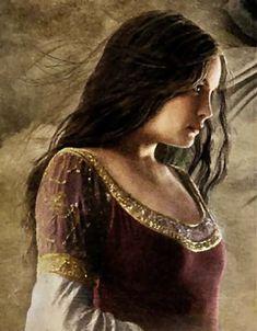 Arwen. I love the dress.
