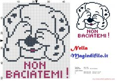 quilting like crazy Beaded Cross Stitch, Cross Stitch Baby, Cross Stitch Embroidery, Cross Stitch Patterns, Dog Pattern, Hand Embroidery Patterns, Cross Stitching, Pixel Art, Baby Knitting